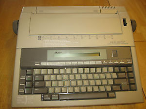 Communicator Word Processing Typewriter